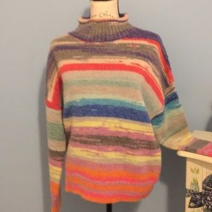 Gap multi colored sweater